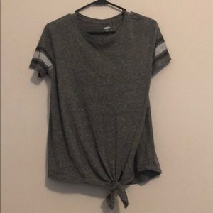 Girls 14 Gray Old Navy Tee